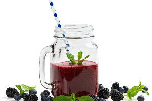 Berry mix smoothie