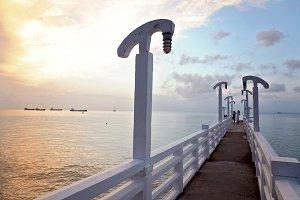 Sunrise on the Pier