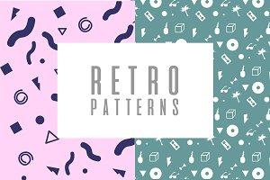 Retro Templates Patterns