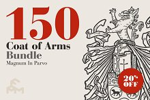 150 Coat Of Arms - Bundle