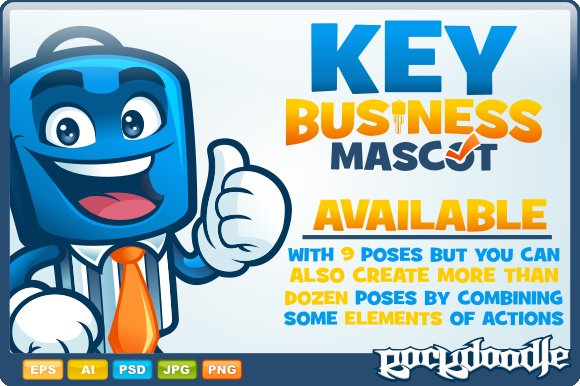 Key Business Mascot