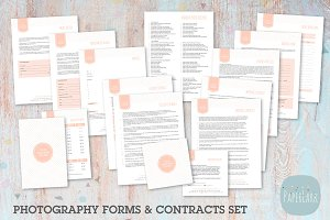 NG003 Photography Contracts & Forms