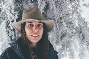 Winter Wonderland Self Portrait