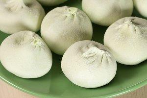 Khinkali - the meat dumplings