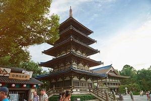 Japan culture house