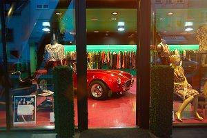 Luxury dress shop