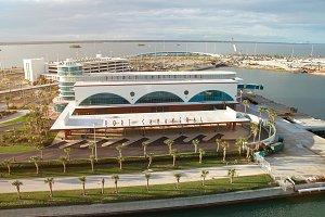Disney cruise line terminal port