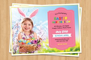 Easter Mini Session Template-V514