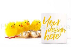 Easter Mug Mockup