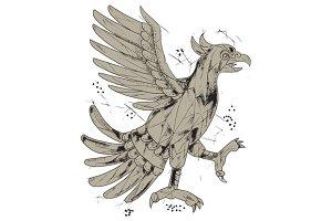 Cuauhtli Glifo Eagle Symbol
