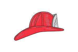 Vintage Fireman Firefighter