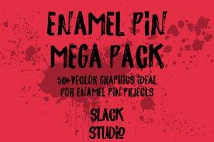 Enamel Pin Mega Pack