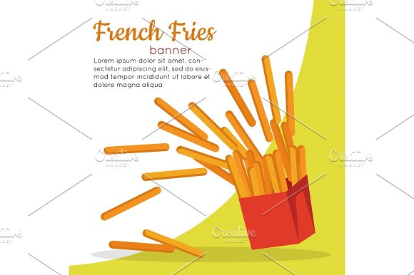 French Fries Crispy Potatoes