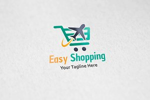 Easy Shopping - Logo Template