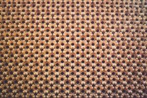 Japanese wood wall