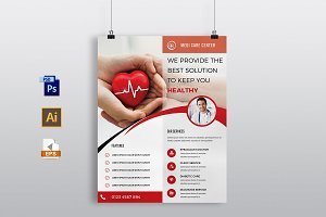Doctors & Medical Flyer Template