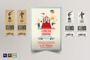 Circus Poster&tickets