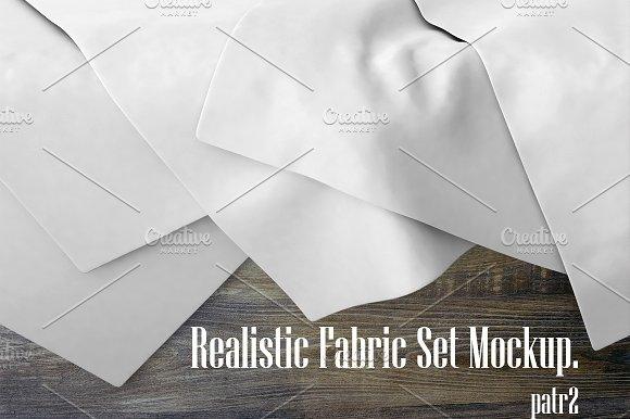 Realistic Fabric Set MockUp 2