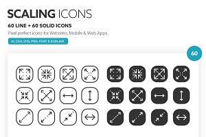 Scaling Icons