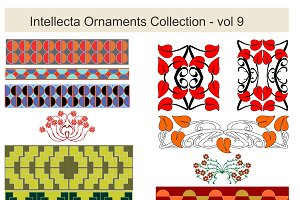 Intellecta Ornaments Collection 9