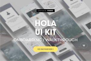 Hola UI Kit - Ionic 1 Theme