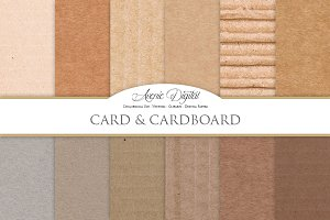 Card and Cardboart Textures