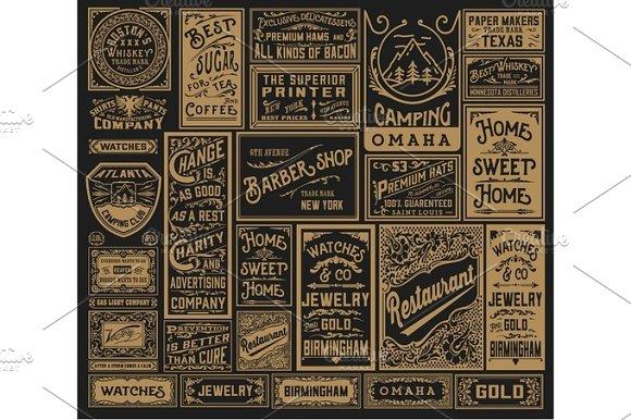 Mega Pack Of Old Advertisements
