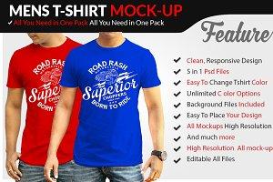 Mens Tshirt Mockup