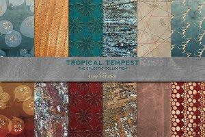 Tropical Tempest: Rose Gold Aquatics