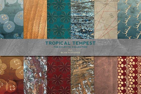 Tropical Tempest Rose Gold Aquatics