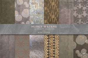 Murky Waters: Rose Gold & Watercolor
