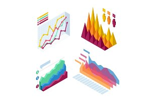 Chart and graphic isometric