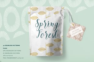 Spring Forest Patterns Collection