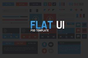 Flat UI PSD