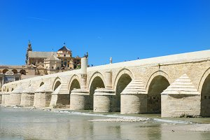 Roman bridge in Cordoba.