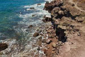 Volcanic landscape Tenerife,