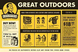 Great Outdoors | Real Retro Clip Art