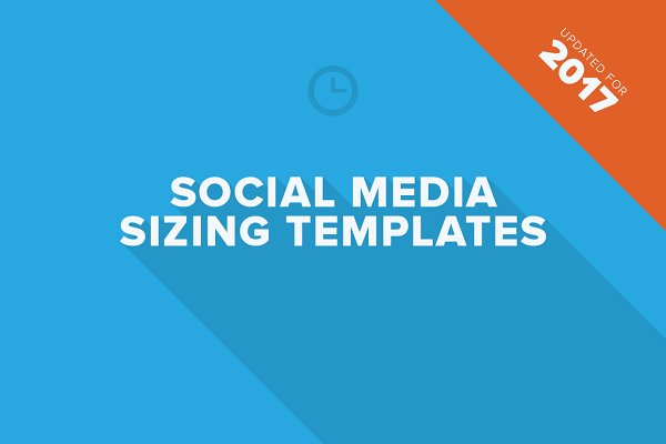 Social Media Sizing Templates