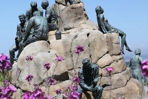 War memorial&#x3B; Lest We Forget.