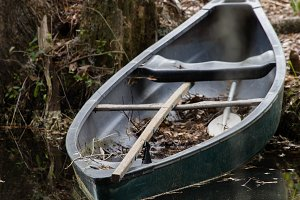 Abandoned Rowboat