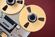 Open Reel Stereo Tape Deck
