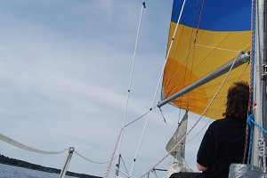 Sail away..