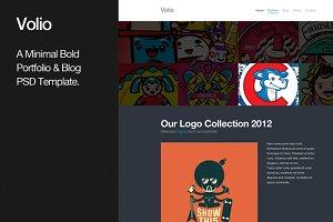 Volio Portfolio & Blog PSD Template