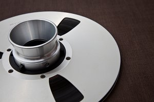 Analogue Master Tape on Metal Reel
