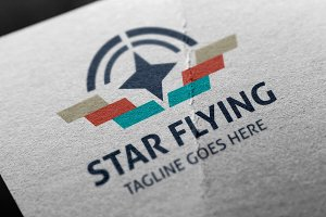 Star Flying Logo
