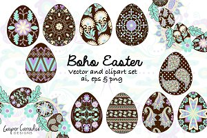 Boho Easter set