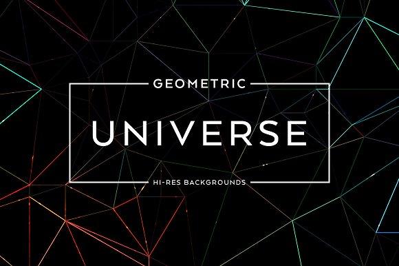 Geometric Universe Backgrounds