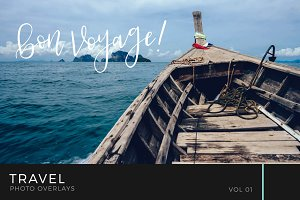 Travel Photo Overlays Volume 1