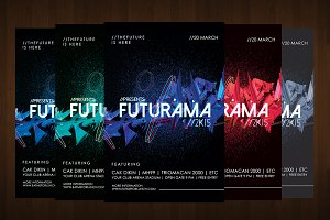 Futuristic Abstract - Flyer Template