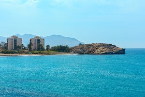 Mediterranean Sea coastline, Spain